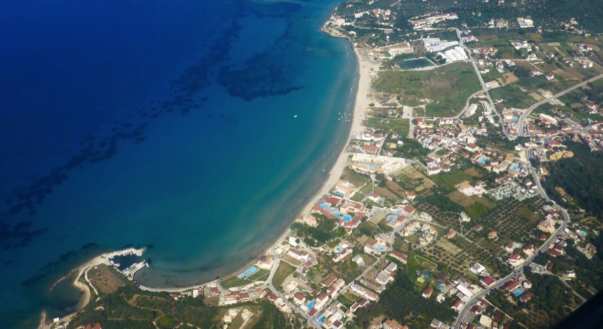Tsilivi from the air